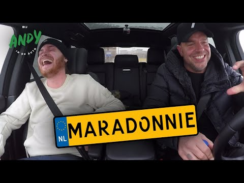 Maradonnie - Bij Andy in de auto