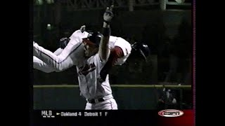 Mariners at Indians - Sunday, August 5, 2001