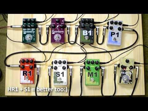 Legend Amps - AMT Electronics M1, S1, R1, P1, B1 comparison (featured HR-1)