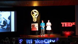 Cute? There's nothing cute about youth activism! | Devun Hansen and Shandel Payne | TEDxSaltLakeCity