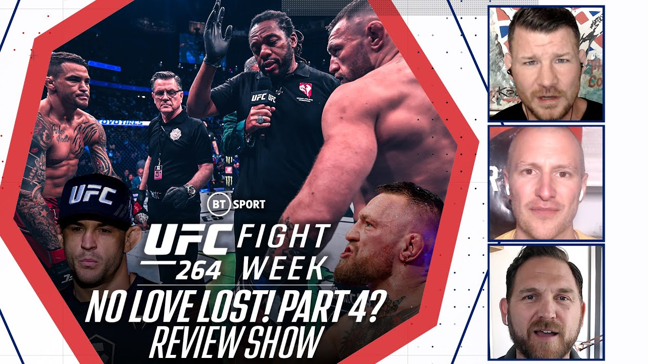 UFC 264 Review Show | Poirier v McGregor 3 | Fight Week with Michael Bisping
