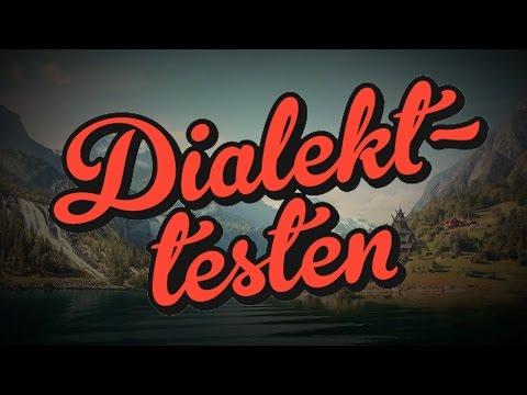 DIALEKTTESTEN - Norsk Underholdning