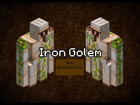 how to create a iron golem in minecraft