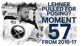 No. 57/100:  Lehner pulled for posing?