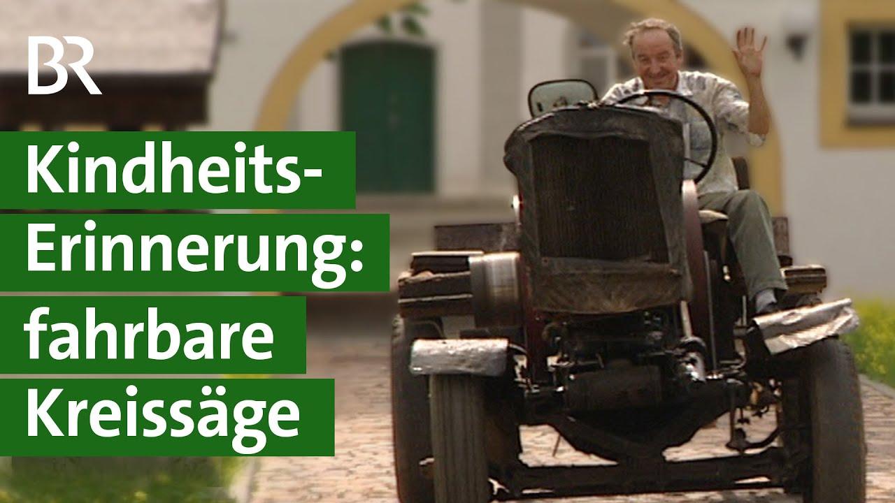 Oldtimer aus der DDR: Kreissäge Marke Eigenbau | Unser Land | BR Fernsehen