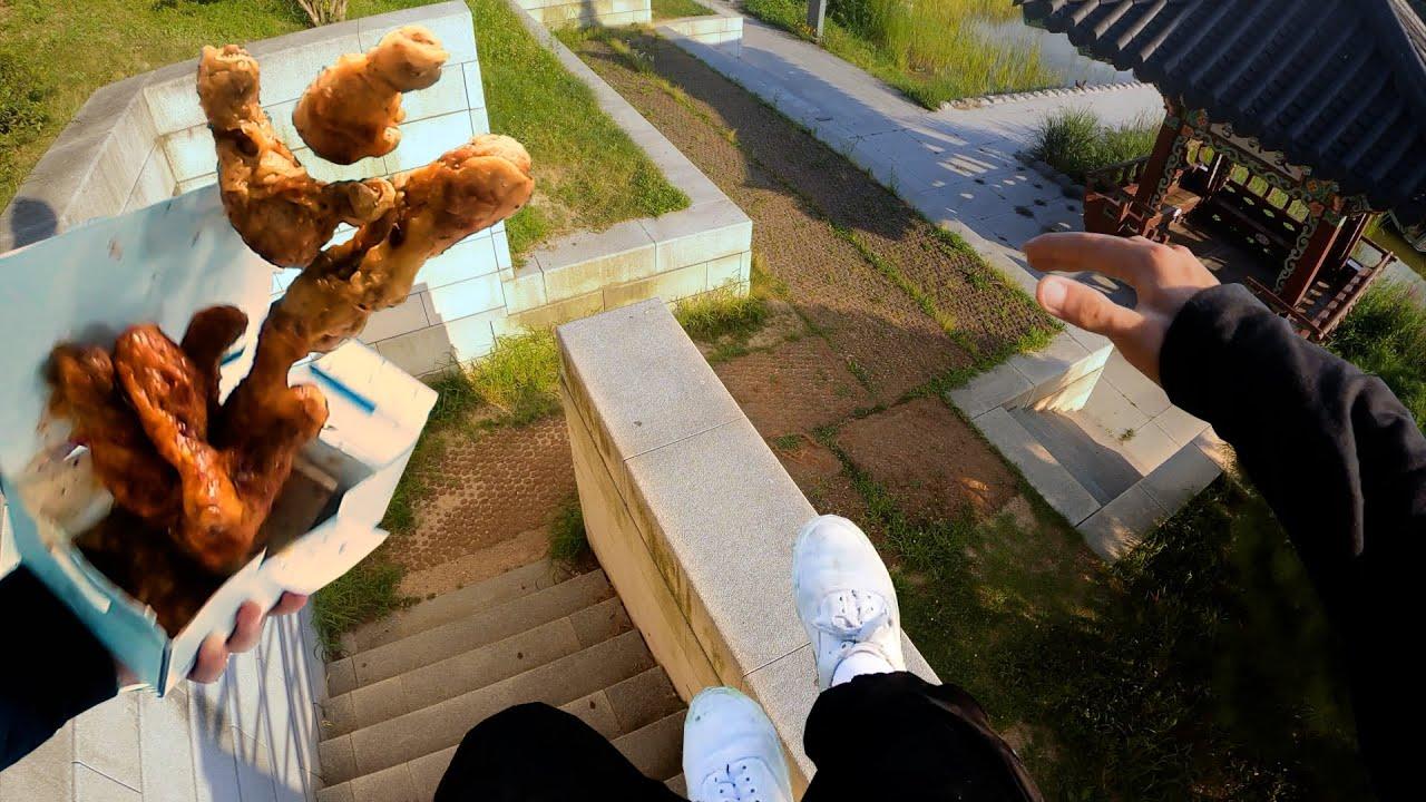 치킨 배달 왔습니다!! 죄송합니다.. 살려주세요!! -야전삽짱재ㅣ배달 유니버스ㅣ파쿠르팀 언더커버