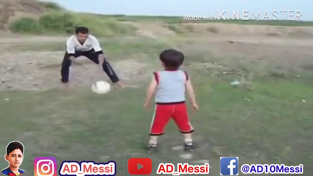 فيديو نادر لبدايتي مع كرة القدم وعمري 4 سنوات