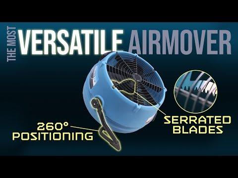 Dri-Eaz' versatile Stealth AV3000 high velocity airmover