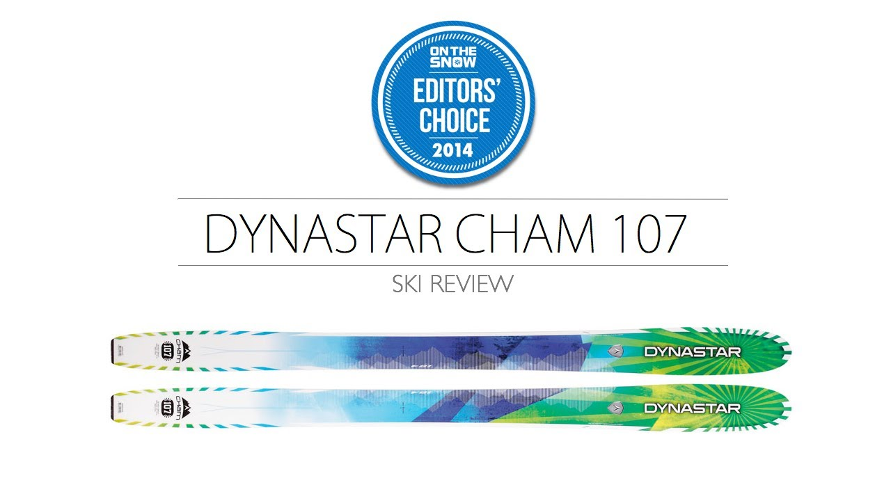 2014 Dynastar Cham 107 Ski Review - Men's Powder Editors' Choice