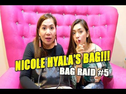 NAINGGIT AKO SA YAYAMANING BAG NI NICOLE HYALA!!!  (BAG RAID #5)