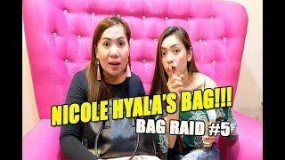 PASILIP SA YAYAMANING BAG NI NICOLE HYALA!!!  (BAG RAID #5)