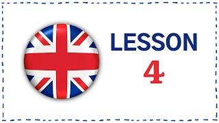 Kurz angličtiny pro samouky: Lekce 4