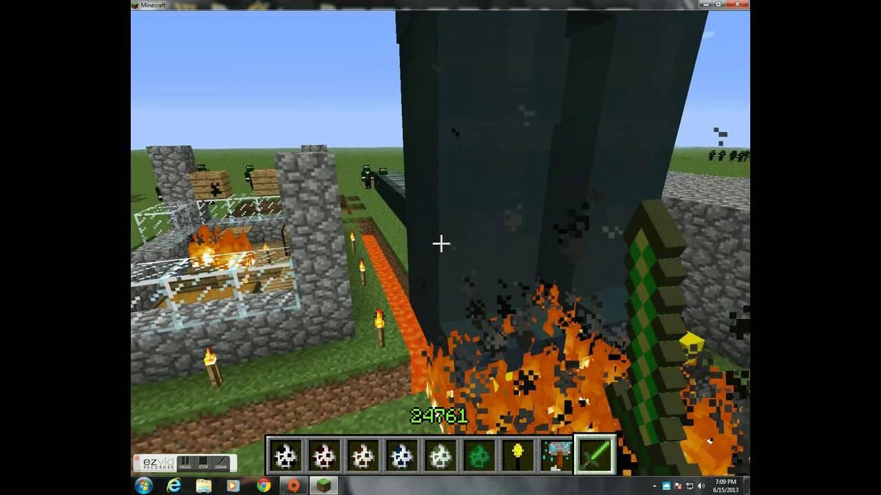 Minecraft Vs Godzilla