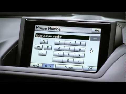use the Navigation System | Lexus CT 200h - Lexus of Reno ...