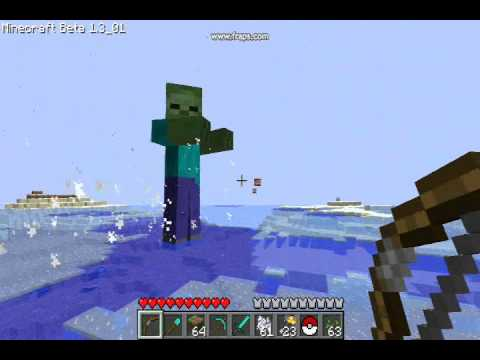 Wild Giant Zombie appeared! - Minecraft