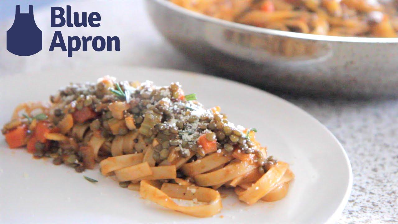 Blue apron bolognese - Lentil Bolognese Blue Apron Recipe