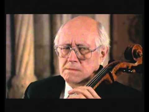 Mstislav Rostropovich  Bach Cello Suite 1