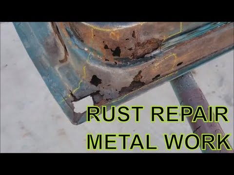 rust hole sheet metal fabrication l ford mustang
