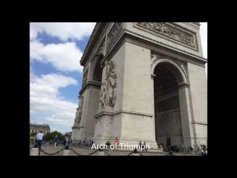 Paris, France Trip - Arch of Triumph (Arc De Triomphe)