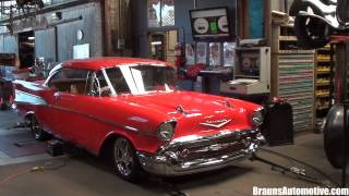 '57 Chevrolet Bel Air dyno run