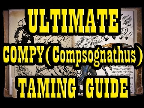 ARK: Survival Evolved - Taming Compy GUIDE | Taming Compsognathus Guide | How to Tame - 60fps
