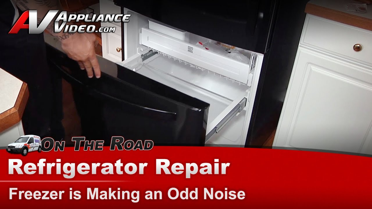 hight resolution of refrigerator repair diagnostic making an odd noise kenmore sears whirlpool 795 76209 900 youtube