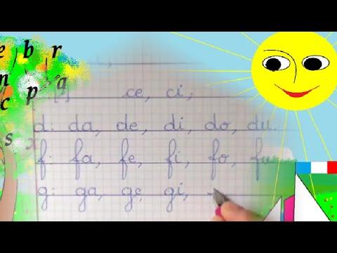Français CP Maternelle : Apprendre à lire et écrire les syllabes