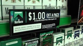 Why Point of Sale Tobacco Marketing Matters