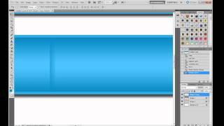 Photoshop Web Design Tutorial | Create Navigation Bar And Header