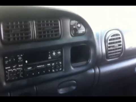 DODGE RAM - AM FM CASSETTE PLAYER STEREO UPGRADE - YouTube