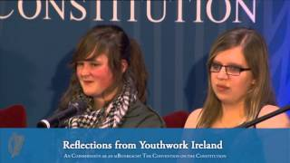 Reflections from Youthwork Ireland (23-02-14)