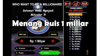 GAME KUIS BERHADIAH 1 MILLIAR screenshot 2
