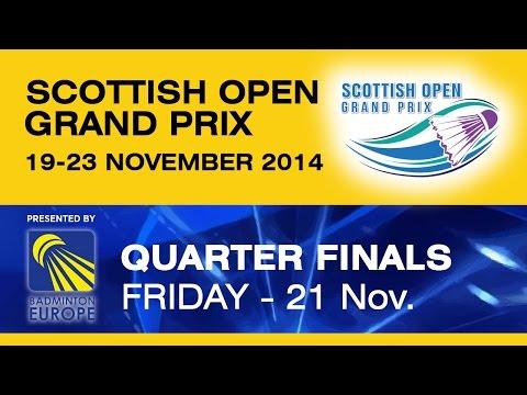 QF - WS - Karin SCHNAASE vs Sayaka SATO - Scottish Open Grand Prix 2014