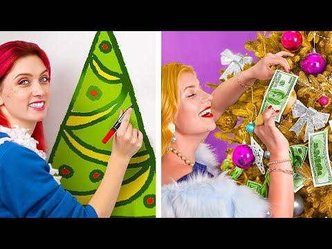 Богатая пара vs бедная пара на Новый Год