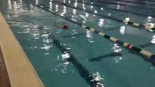 Dolphin Kick on Side –Bridger Bell