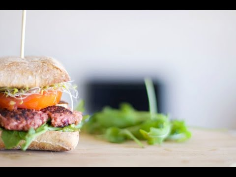 Burgers v g tariens doovi - Herve cuisine hamburger ...
