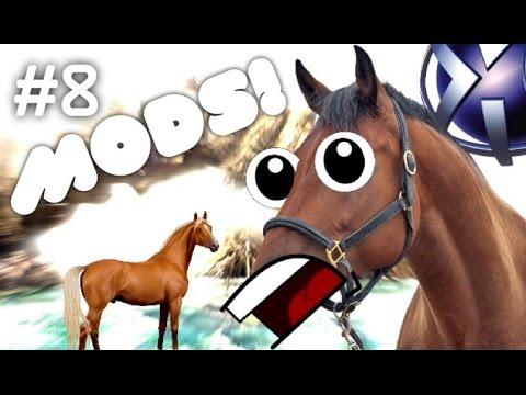 MINI HORSES! - PS4 Skyrim Mods #8   Skyrim: Special Edition
