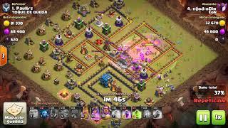 ⭐️ EoN Vs Toque de queda | ¡¡¡Th11 vs th12!!! | Ataques 3 estrellas ⭐️⭐️⭐️ | Clash Of Clans