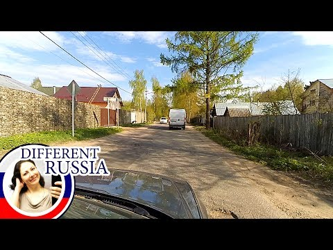 Small Russian Town Road Trip: High Fences, Bad Roads & School Buses