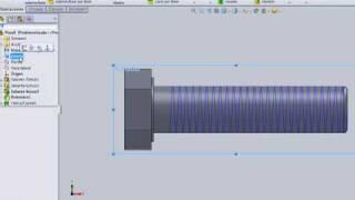 solidworks como generar un tornillo