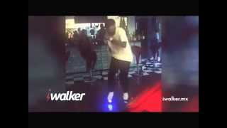 Chris Brown Dance on i-walker board