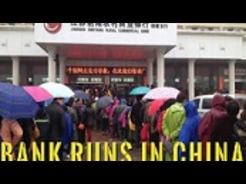 Dollar Shortage Fallout? Bank Runs Are Back In China?