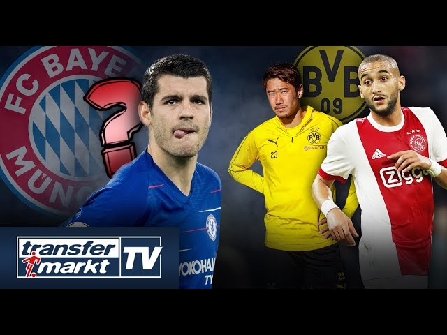 Morata per Leihe zu Bayern? – Ersetzt Ziyech Kagawa beim BVB? | TRANSFERMARKT