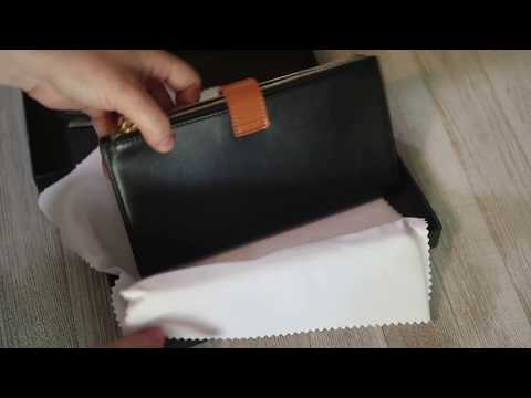 Womens' Wallet Genuine Leather With RFID Blocking Credit Card Holder Purse By BMoss #Review