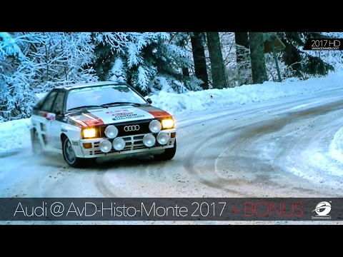 Audi History AvD Histo Monte: Audi quattro + Lancia delta + Rally Cars