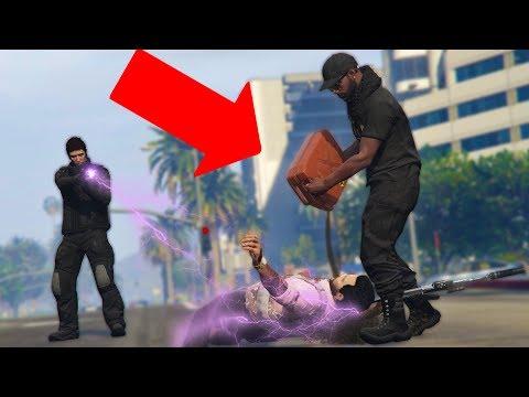 I POURED GAS INTO HIS MOUTH! *STUN GUN TROLLING!*   GTA 5 THUG LIFE #139