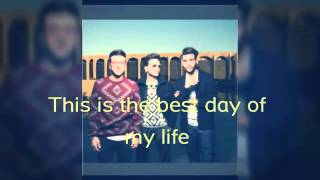 The best day of my life Il Volo lyrics