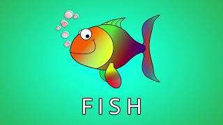 Animals Spelling - ESL Vocab for Kids