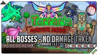 Terraria 1.4 - All Bosses on Mastermode (No damage taken)