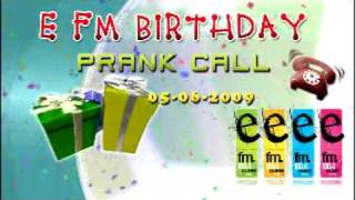 nadi s birthday prank call on e fm